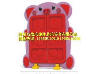 猪宝宝口杯架(带门)
