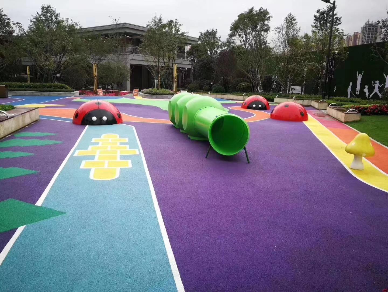 貴州透氣型塑膠跑道 貴陽透氣型塑膠跑道 透氣型塑膠跑道 混合型塑膠跑道 塑膠運動場