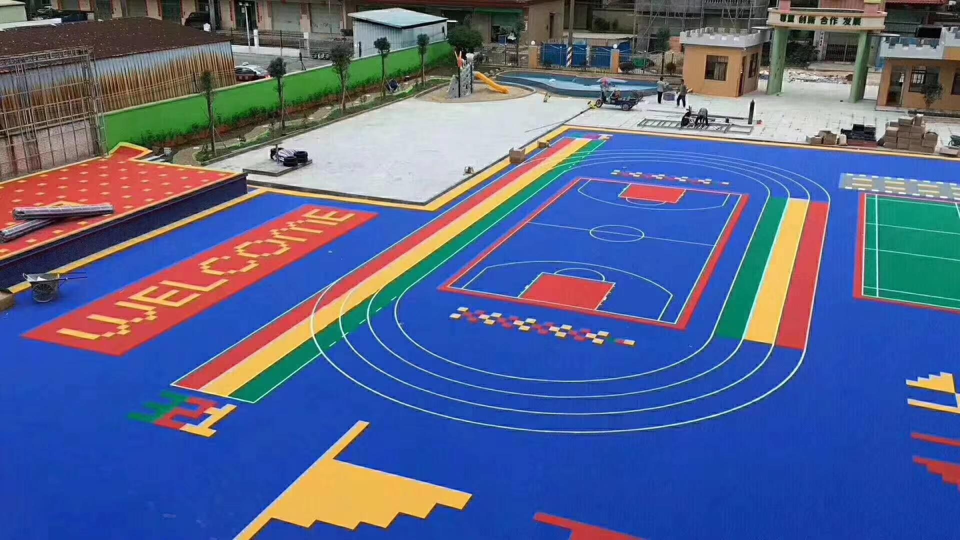 貴州幼兒園安全地墊,貴陽幼兒園安全地墊,安全地墊,幼兒園塑膠地墊