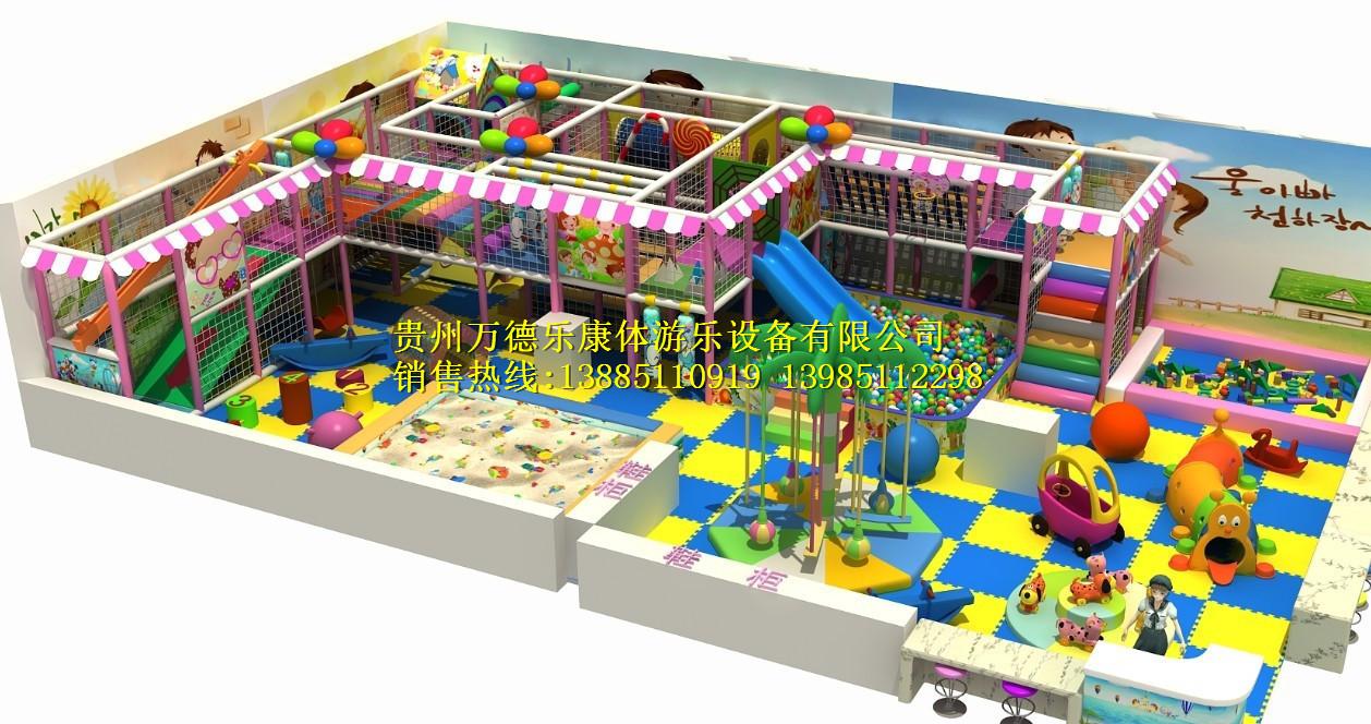 淘气堡 儿童乐园300平方以上04