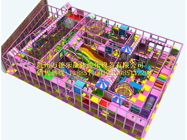 淘气堡 儿童乐园300平方以上10